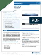 Sangoma Vega 5000 Analog Gateway Datasheet