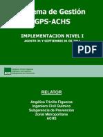 Implementacion Gps Achs Ppt