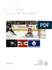 Drivers of NHL Player Salaries