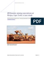 Chapter 29 Bauxite Mining Operations at Weipa