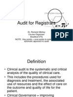 An Intro to Audit