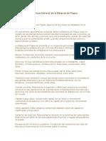 Estructura General de La Balanza de Pagos
