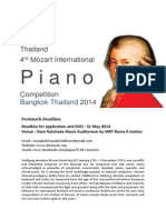 Mozart Piano Competition 2014