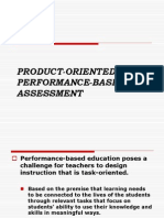 100098403 Product Oriented Performance Based Assessment