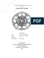 Laporan Praktikum Mekanika Fluida