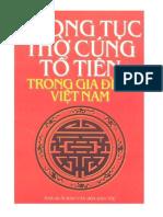 Phapmatblog Phong Tuc Tho Cung to Tien Trong Gia Dinh Viet Nam