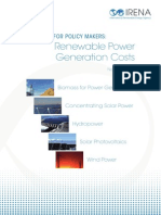 Case 1- Renewable Power + Costs