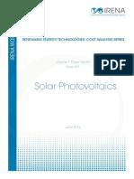 Cost Analysis-SOLAR PV