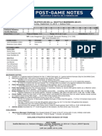 09.13.14 Post-Game Notes