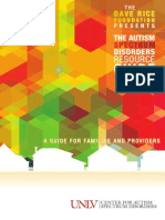 Autism Resource Guide 2014