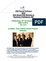 JSM Payroll Software With Business Intelligence