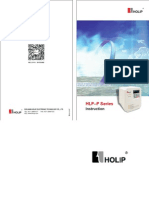 HLP-P Series Operating Manual