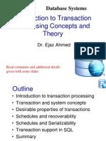Lec 1 Transaction Processing Concepts