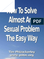 How to Solve Almost Any Sexual Problem the Easy Way - Tim Phizackerley