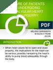 Care of Patients Undergoing Valvular Heart Surgerry