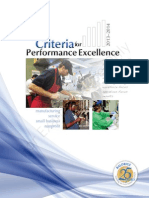 Criteria for Performance Excellenc