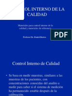 Materiales Controles