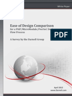 Ease of Design Comparison