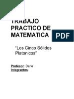 5 Solidos Platonicos (1)