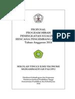 PROPOSAL HIBAH PEnyusunan Renstra 2014