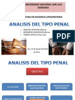 Analisis Del Tipo Penal
