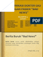 Komunikasi Drg Pasien Bad News