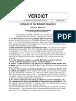 A Digest of the Sabbath Question - Robert D. Brinsmead