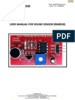 User Manual Sound Sensor