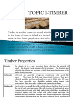Topic 1-Timber