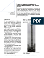 207951854 Cause of Industrial Steel Chimney Failure