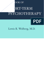 Wolberg Short Term Psychotherapy