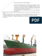 Dry Docking Notes