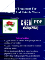 Ozone Treatment for Cooling Towers and Potable Water