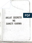 Libro Secreto ng Sancti Karma