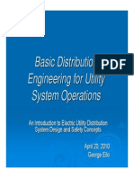 Basic Distribution Engineering Utility System Operations
