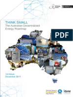Australian Decentralised Energy Roadmap December 2011