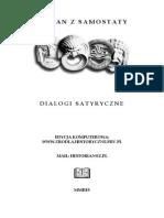 Lukian - Dialogi