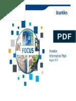 Brambles FY13 Results - Investor Information Pack