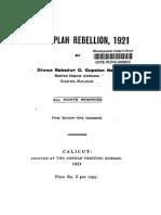 Moplah Rebellion, 1921