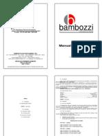 Bambozzi Moto Esmeril de Coluna Manual de Instrucoes 439970
