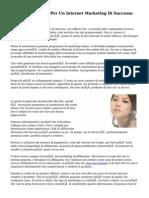 Consigli E Trucchi Per Un Internet Marketing Di Successo Commerciale