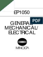 Minolta Ep1050 Service