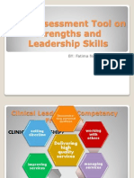 Self-Assessment Tool on Strengths and Leadership Skills