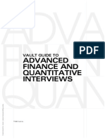 Vault-Guide to Advanced Quant Interviews