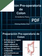 Preparación Pre-operatoria de Colon