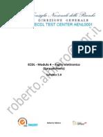 Modulo 4 Foglio Elettronico-F