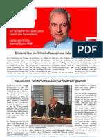 Newsletter Dezember 2009