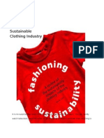 Sustainability as Strategy in the Clothing Industry