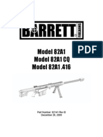 Baretts 82A1 Manual