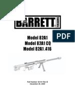 Baretts 82A1 Manual